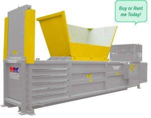KK 500 Semi Automatic Baler